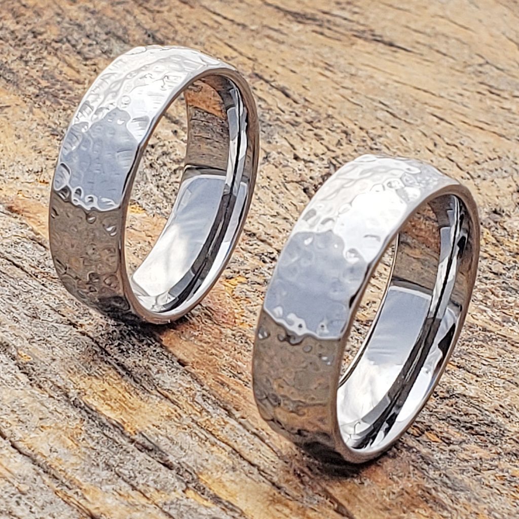 Tungsten ring styles