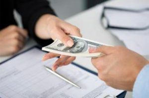 Money lending to solve financial problems